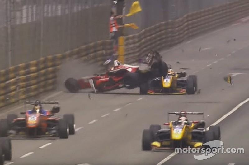 Az FIA a makaói balesettel győzködi az F1-es versenyzőket a halóról!
