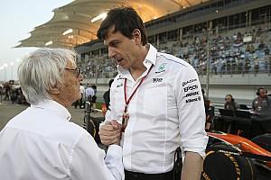 Formel 1 News Wolff: Ecclestone hat richtigen Zeitpunkt für Rückzug verpasst