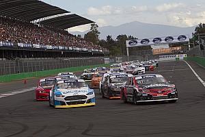 NASCAR Mexico Crónica de Carrera NASCAR México debutó con su nuevo formato