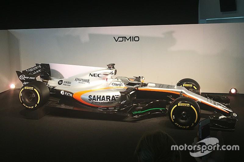 Analyse: Der Force India VJM10 für die Formel-1-Saison 2017