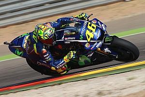 MotoGP Últimas notícias Apesar da primeira fila, Rossi espera