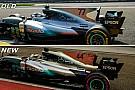 F1 Análisis técnico: los cambios que impulsaron a Mercedes en Singapur