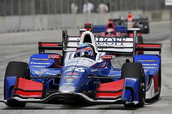 IndyCar Sato mantém brilho e é pole em Detroit; Castroneves é 4º