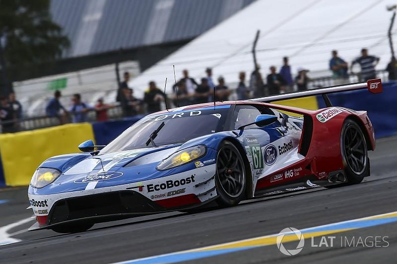 Ferrari sospecha de un inusual ritmo de Ford en las pruebas de Le Mans