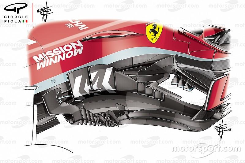 Analyse: Wat er goed en fout ging met de updates van Ferrari