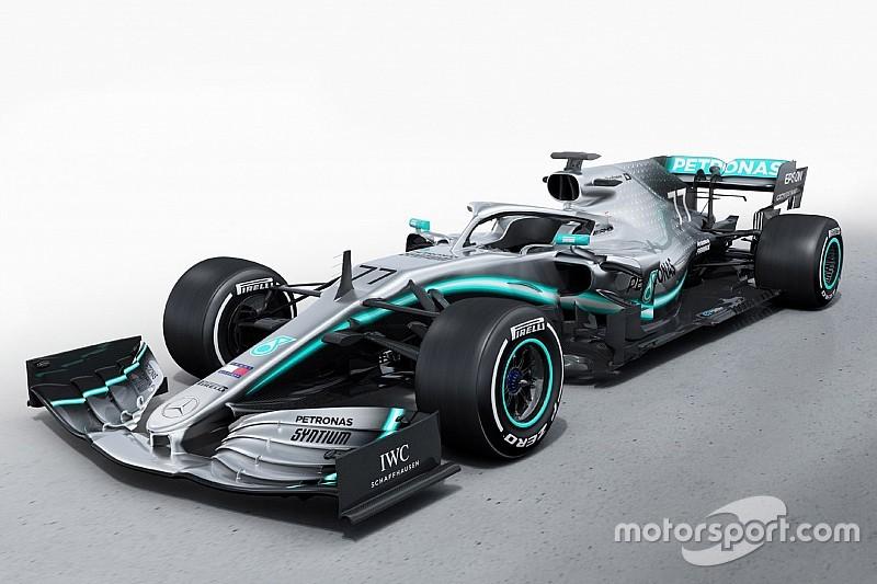 最強時代は続くのか? メルセデスF1、新車W10を公開