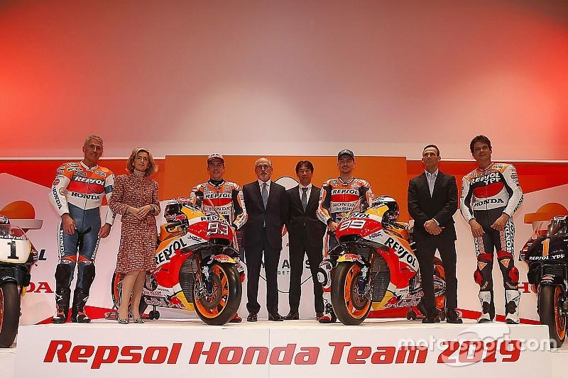 GALERI: Suasana peluncuran Repsol Honda 2019