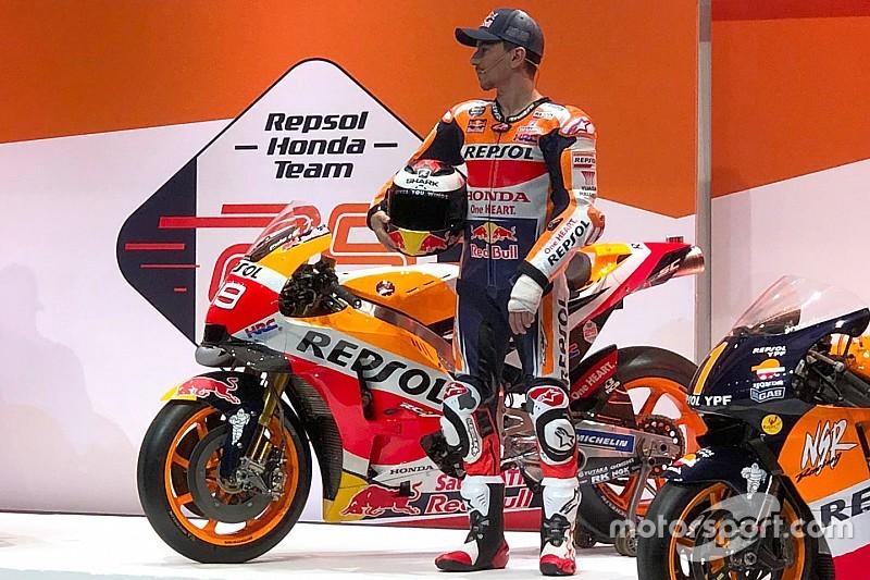 Repsol Honda revela pintura para 2019 em evento na Espanha