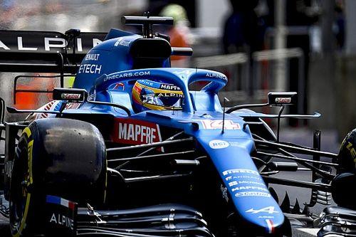 """Alonso lamenta la """"alucinante"""" inconsistencia de los neumáticos"""