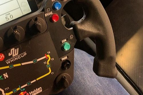 Triple Eight decides against F1-style steering wheel
