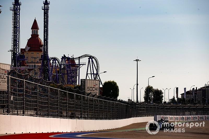 GALERI: Suasana dan aksi kualifikasi GP Rusia