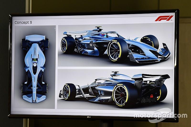 Photos - La F1 présente des concepts pour 2021