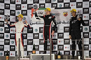 Formula 4 Race report Donison claims three podium finishes in F4 UAE's Trophy Event