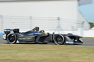 Formula E Testing report Vergne lowers lap record on penultimate Formula E test day