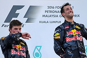 Formula 1 Breaking news Ricciardo: Verstappen hype could be good for my reputation