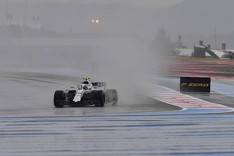 La 'inesperada' lluvia condiciona los libres 3 en Francia
