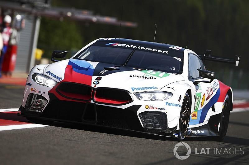 BMW et Aston Martin souffrent à Spa-Francorchamps