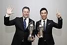 """IndyCar Sato, y Andretti reciben sus  """"Baby Borgs"""" por ganar Indy 500"""