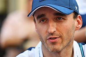 Formula 1 Breaking news Kubica in talks for Williams support role for 2018