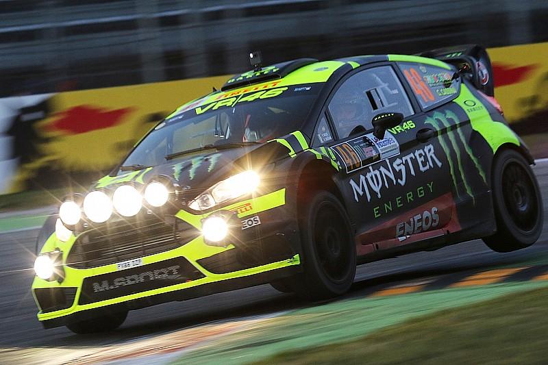 Rossi, sancionado al inicio del Monza Rally Show
