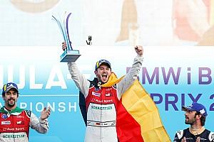 Fórmula E Crónica de Carrera Abt lidera el 1-2 de Audi en Berlín