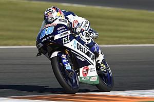 Moto3 Test Test Valencia, Giorno 1: svetta Martin, Bastianini 3° al debutto con Leopard