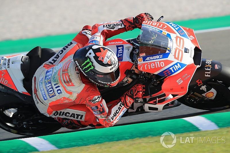 Ducati beim Valencia-Test: Lorenzo happy, Dovizioso kraftlos