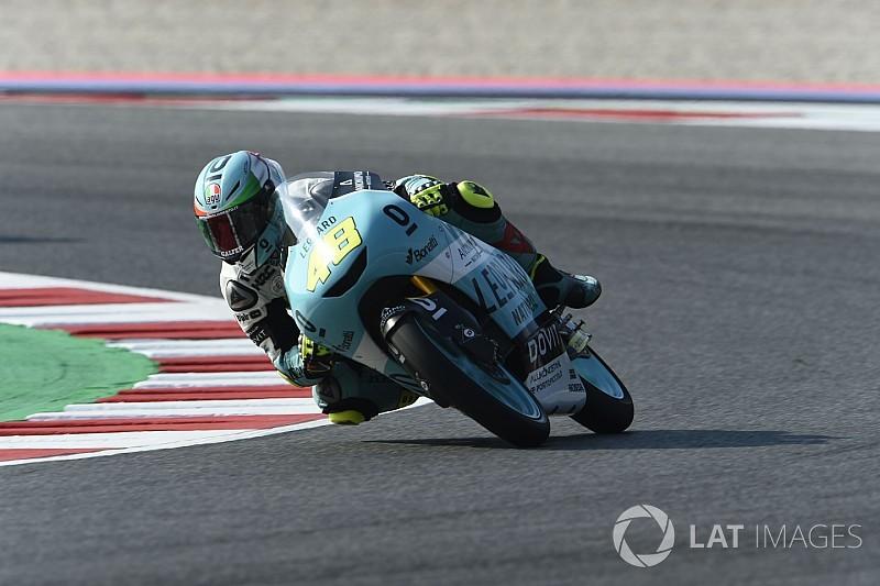Dalla Porta logra su primera victoria y Martín se pone líder de Moto3