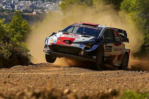 WRC: Rovanpera no da tregua y arrasa en la mañana del sábado del Acrópolis