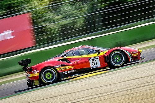 GTWC: podio e rammarico per le Ferrari a Imola