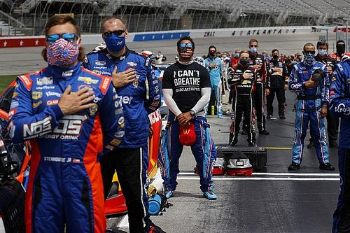 """NASCAR: Addressing social justice is """"right for our sport"""""""