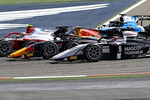 Общий зачет Формулы 2 после первого этапа