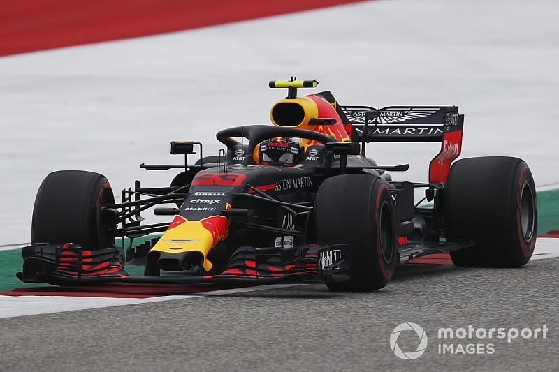 Verstappen, Amerika'da günün pilotu oldu