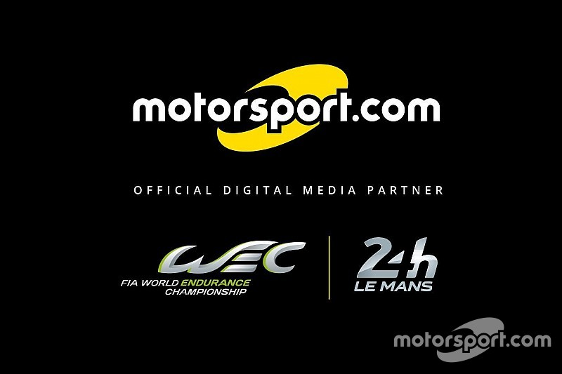 """""""موتورسبورت.كوم"""" يصبح الشريك الإعلامي الرقمي لكل من """"دبليو إي سي"""" وسباق لومان 24 ساعة"""