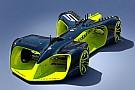 ロボレース用の無人コンセプトカーのデザインが公開