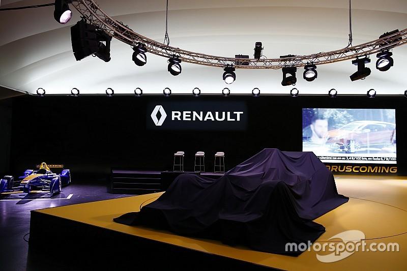 LIVE: Peluncuran mobil Renault F1 2017