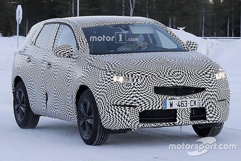 Spyshots - L'Opel Grandland X 2017 en tenue d'hiver