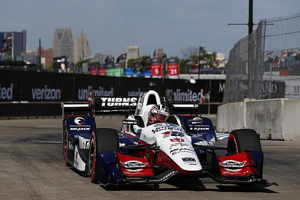 IndyCar IndyCar: Rahal rajt-cél győzelmét hozta az első detroiti futam