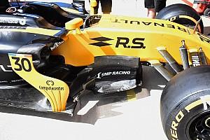 Forma-1 Elemzés Új légterelő idom a Renault-n
