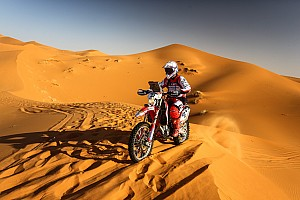 Cross-Country Rally Reporte de la carrera Oriol Mena gana la quinta etapa del Rally Merzouga en su debut en raids