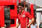 A Ferrari juniorja F1-es szabadedzéseket kap a Sauber-nél