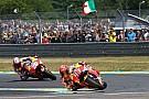 MotoGP Márquez cree que la carcasa blanda es el elemento que le ha hecho sufrir más que Pedrosa