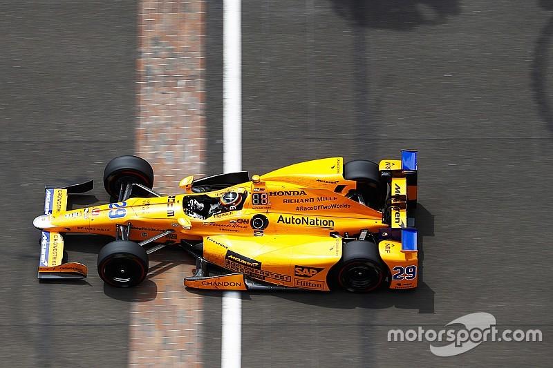 Alonso met nieuw startnummer aan de start in Indy 500