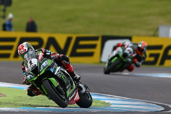 World Superbike Breaking news Donington WSBK: Rea wins incident-filled Race 2