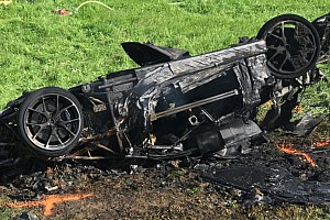 Hillclimb Важливі новини Відео з місця аварії Хаммонда - як спалити $1 млн
