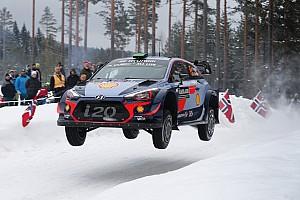 WRC Отчет о секции Экипажи Hyundai захватили первые три позиции на Ралли Швеция
