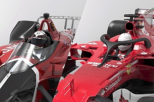 Formula 1 Special feature VIDEO 3D: Kaca IndyCar vs Halo F1