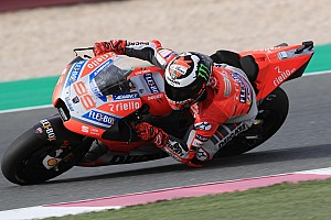 Lorenzo explains lack of aero fairing for Qatar