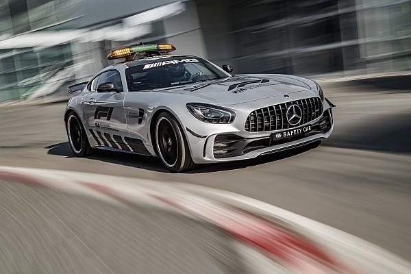 Formule 1 Toplijst In beeld: Dit is de nieuwe Mercedes F1 Safety Car