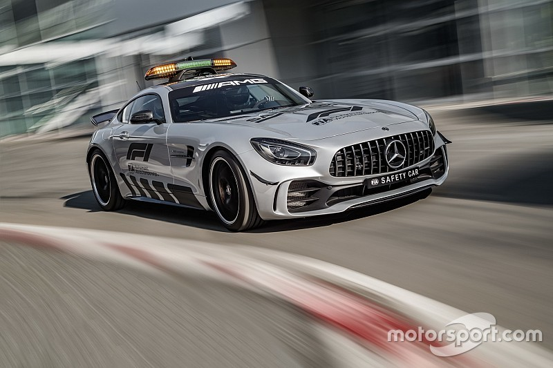 La nuova Safety Car Mercedes per la F.1 può girare 6